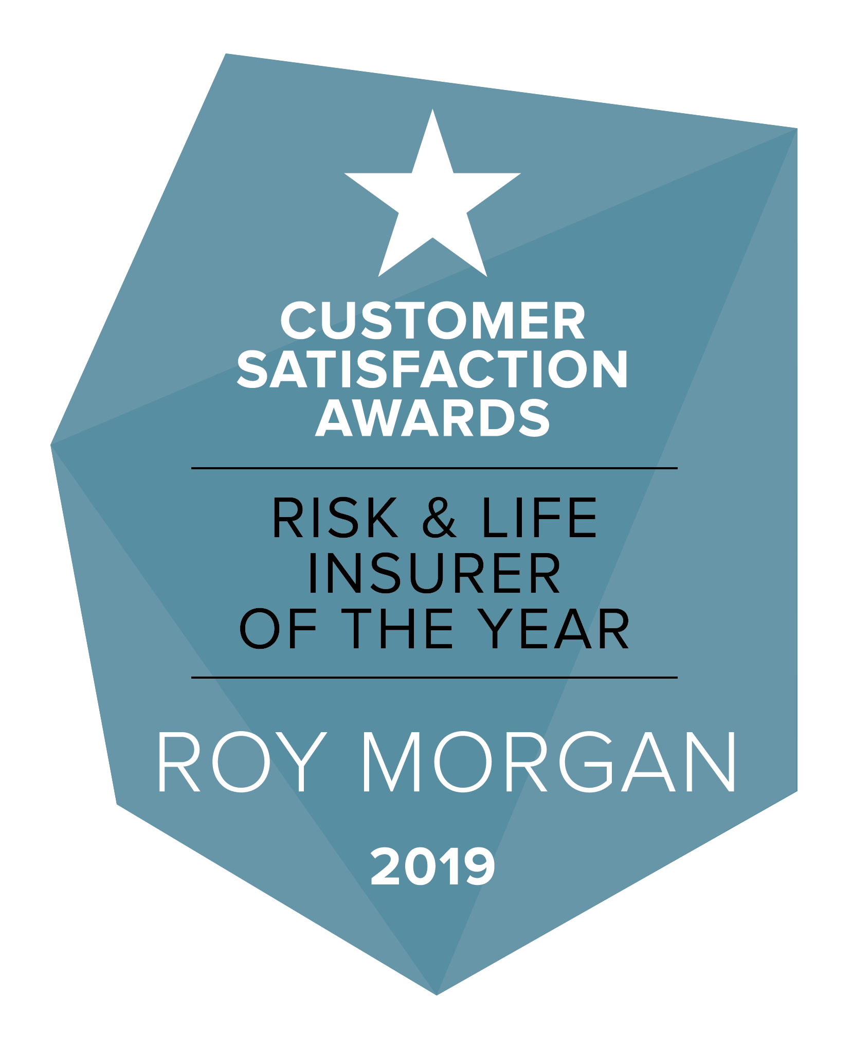 Roy Morgan Risk and Life Insurer of the Year 2019